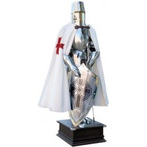 Templar Knight Suit of Armor-Cross