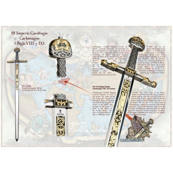 Joyeuse Sword Of Charlemagne Deluxe sword of charlemagne