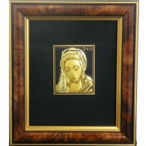 Virgin Mary-Damascene Framed Picture
