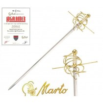 Golden Rapier Sword Highlander 20th Anniversary
