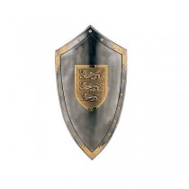 Richard the Lionheart Shield Steel