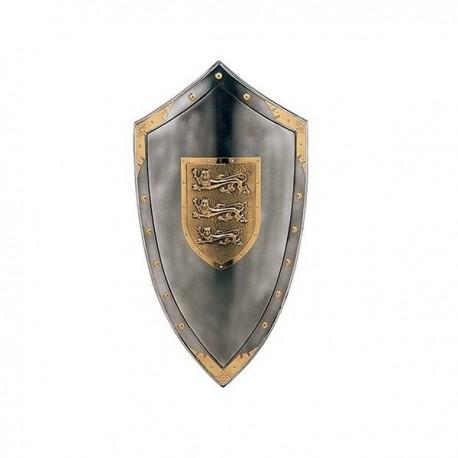 Richard the Lionheart Shield Steel