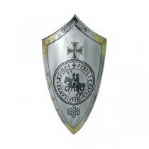 Templar Shield with Seal