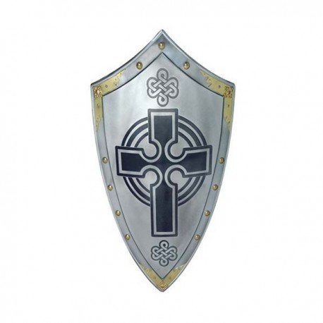 Templar Shield with Cross