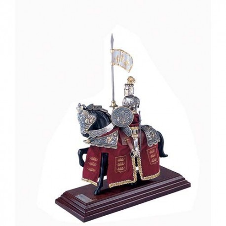 Miniature Mounted Knight Marto 918-5