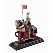 Miniature Mounted Knight Marto 918-4