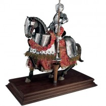 Jousting Knight Suit of Armor Red