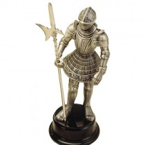 Mini Knight Armor with Halberd