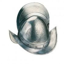 Spanish Morion Helmet Engraved