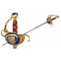 Highlander Duncan MacLeod Rapier Sword Gold