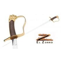 Zorro Elena Saber Sword