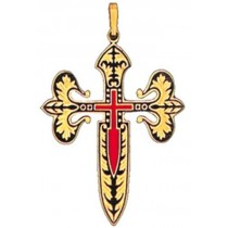 Cross of Knights of Saint James