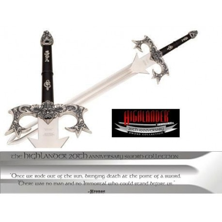 Highlander Sword of Kronos Limited Edition