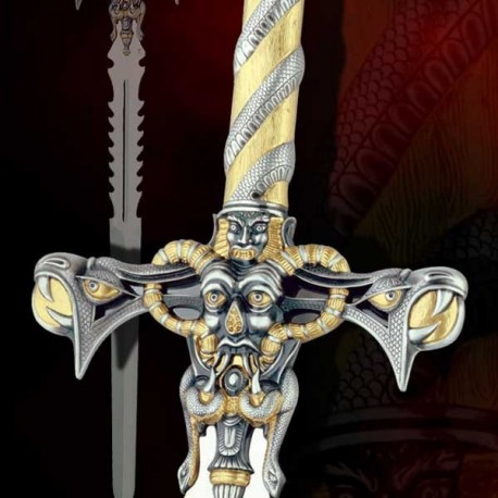 Fantasy Sword of The Hell Guardian