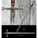 Templar Sword Damascus