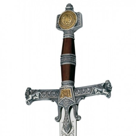 King Solomon Sword Silver