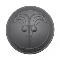 Conan Round Shield Black