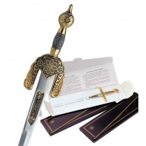 Damascene Arabic Sword Letter Opener