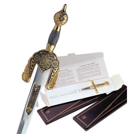 Damascene Arabic Sword Letter Opener