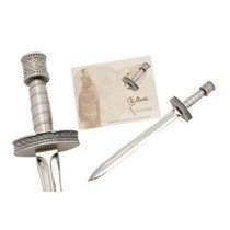 Miniature Alexander The Great Sword Silver