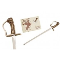 Miniature Zorro Elena Saber Sword Bronze
