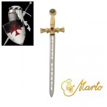 Templar Sword Miniature Gold